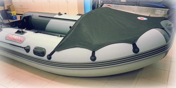 Тент на лодку из ПВХ ткани